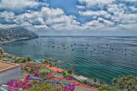tyrrhenian: A view of Maronti beach in Ischia island in Italy