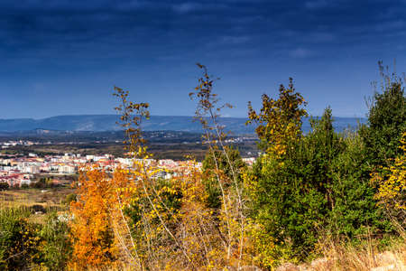 apparition: Views in Mount Podbrdo, the  Apparition hill overlooking the village of Medjugorje in Bosnia ed Erzegovina