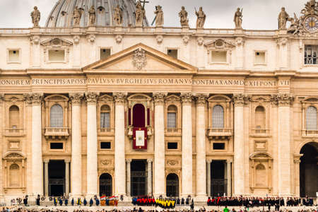 saint peter: Saint Peter, Basilica in Vatican City: dome and facade