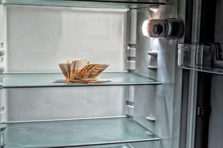 Kühlschrank Licht : Keine lebensmittel in den kühlschrank eine kalte licht in einem