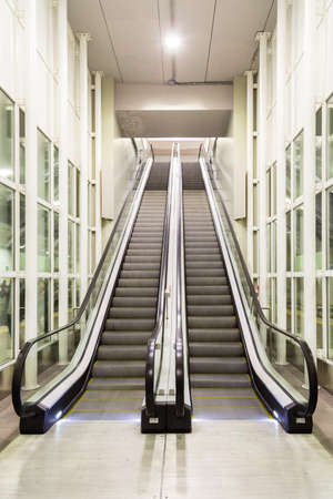 Moving Staircase Stock Photo   40743602
