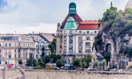 classicism: The variety of styles of palaces in Budapest: Roman, Gothic, Neo-Gothic, Renaissance, Neo-Renaissance, Baroque, Neo-Baroque, Ottoman, Classicism, Neo-Classicism, Romantic and Art Noveau Architecture Editorial