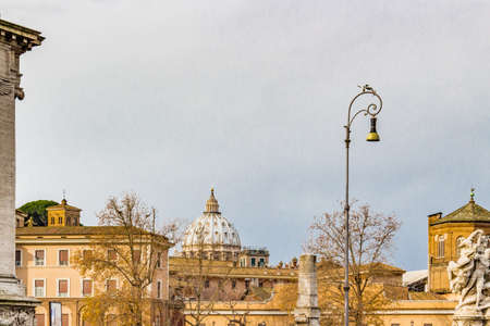 historic buildings: Rome the eternal city, architectural, ancient monuments and historic buildings