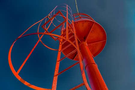 stepladder: stepladder to red lighthouse