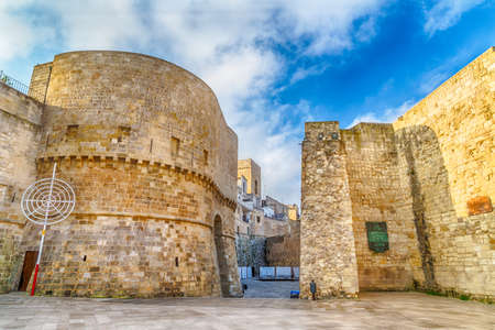 origins: the historic center of Otranto, coastal town of Greek-Messapian origins  in Italy