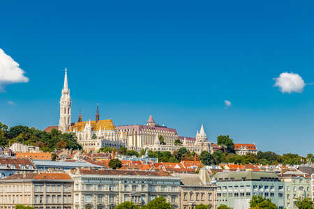 classicism: The variety of styles of churches and palaces and buildings  in Budapest, Hungary in Europe
