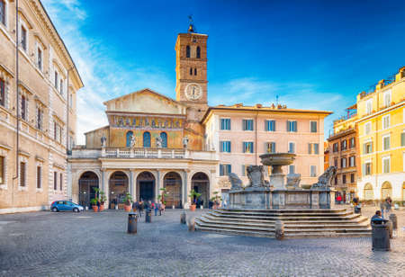 Basilica of Saint Mary in Rome, Italy, the oldest Church of Our Lady in the world