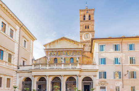 the church of our lady: Basilica of Saint Mary in Rome, Italy, the oldest Church of Our Lady in the world