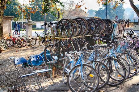 storage: bike storage
