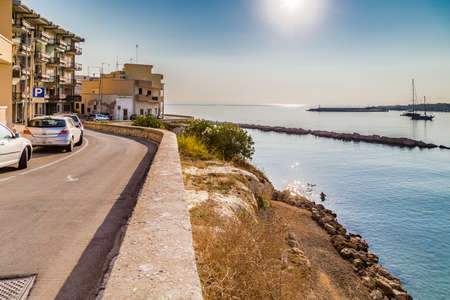 the gulf: Gulf of Apulian town in the Salento peninsula in Italy