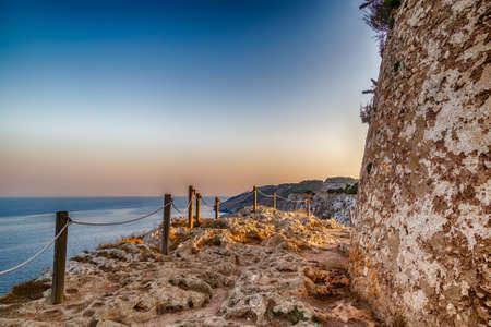 watchtower: italian watchtower in Apulia