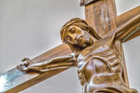 viernes santo: Celebraci�n del Viernes Santo, la Crucifixi�n de Jesucristo clavado en la Santa Cruz