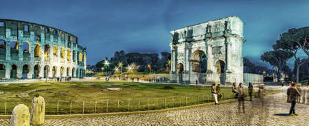 constantine: the imposing walls of a Roman triumphal arch and amphitheater