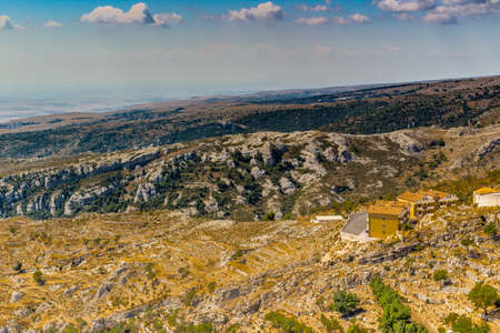 gargano: View of the coast of Gargano from mount of San Giovanni Rotondo in Puglia