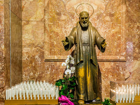 Statue of Saint Pio of Pietrelcina