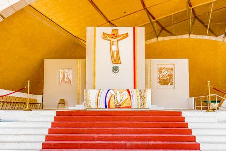 pio: Sanctuary of Saint Pio of Pietrelcina in Apulia Stock Photo