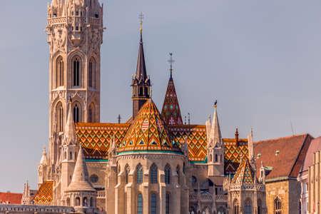 matthias church: Matthias Church in Budapest