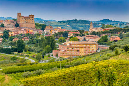 romagna: the magic of a medieval castle in the rolling hills of Romagna in Italy