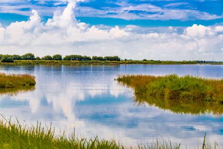 briny: brackish lagoon in Italy