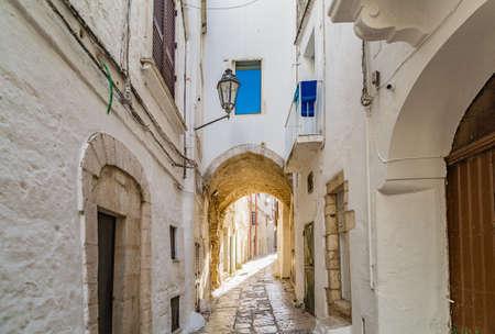 Narrow street of Ostuni, The White City