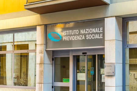 RAVENNA, ITALY - FEBRUARY 15, 2018:  the Italian national social security organization decided to grant birth premium to foreign women and not only to Italian ones Editorial