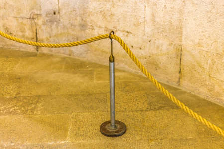 Boundary Rope on Metal stand