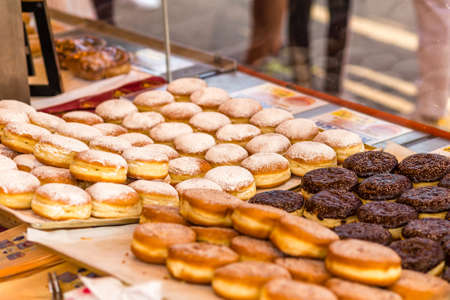 Austrian Doughnuts for sale in street market