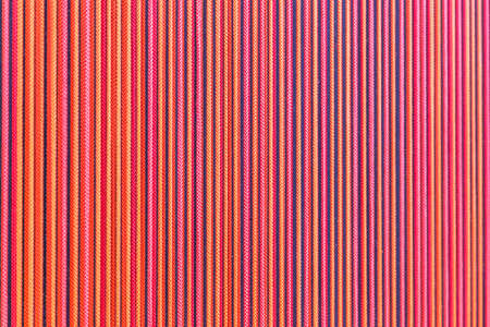 Background of colorful elastic strings vibrating