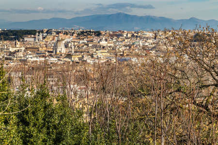 breathtaking view of cityscape of Rome