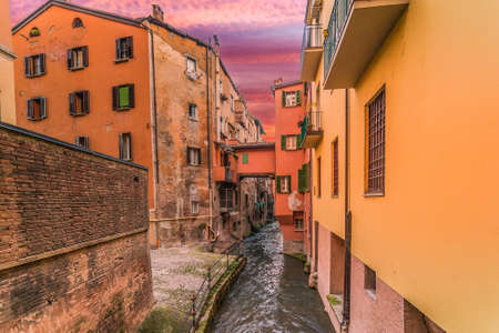 fascinating hidden water channel in city