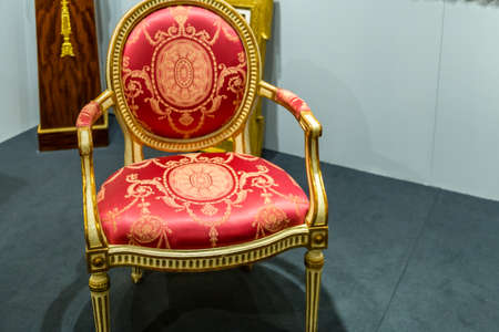 MODENA, ITALY – FEBRUARY 15, 2019: Priceless artworks offered for sale by antique dealers during Modenantiquaria the most visited high quality antiques fair in Italy