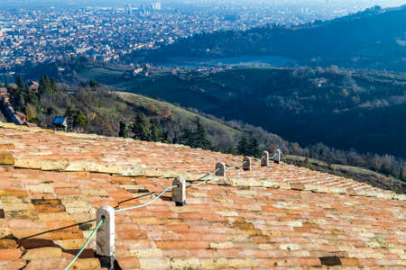 incredible view of Bologna hills