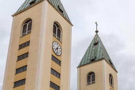 Catholics Parish Church in Medugorje in Bosnia And Herzegovina