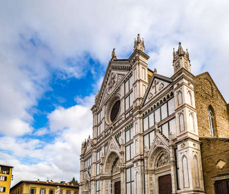 light is enlightening church in Florence in Italy
