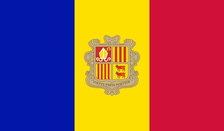 andorra: Andorra Flag