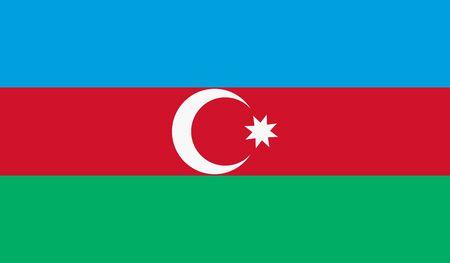 flag: Azerbaijan Flag Illustration