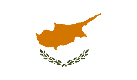 old flag: Cyprus Flag Illustration