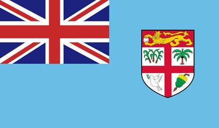 Fiji Flag Illustration