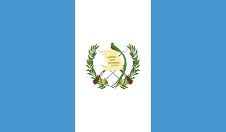 Guatemala Flag Vector Illustration
