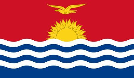 kiribati: Kiribati flag