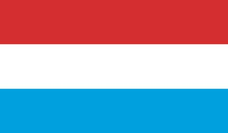 all european flags: Luxembourg Flag