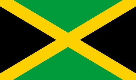 jamaica: Jamaica Flag Illustration