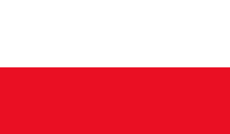 poland flag: Poland flag Illustration