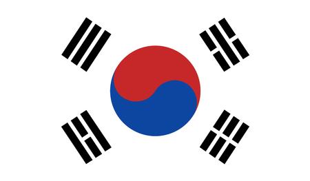 south korea: South Korea flag