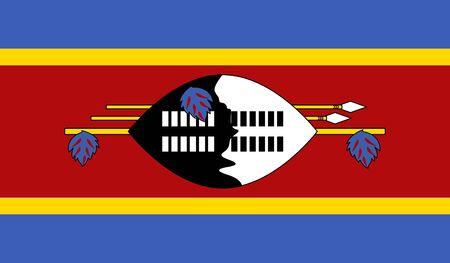 swaziland: Swaziland Flag