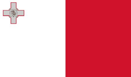 malta: Malta Flag Illustration