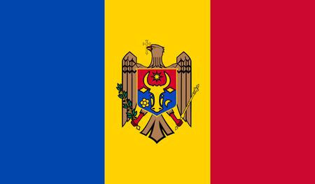 identidad cultural: Bandera de Moldova