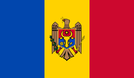 moldovan: Moldova Flag Illustration