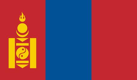mongolia: Mongolia Flag