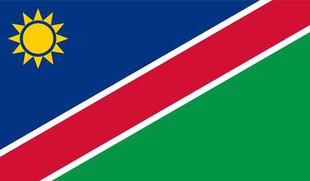 namibia: Namibia Flag